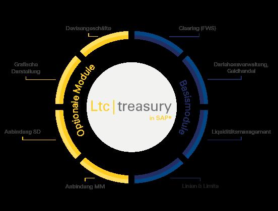 Ltc treasury in SAP - Modulübersicht